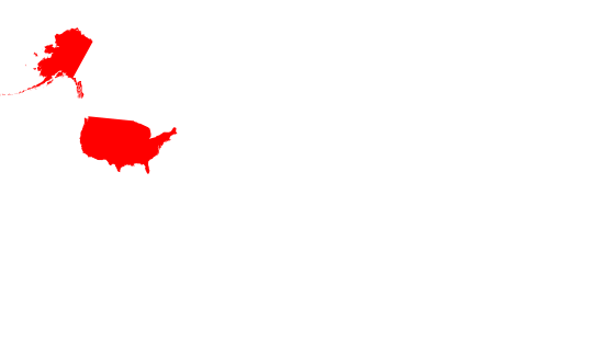 World Map US