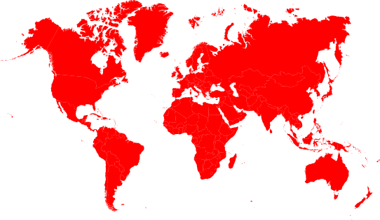 World map worldwide
